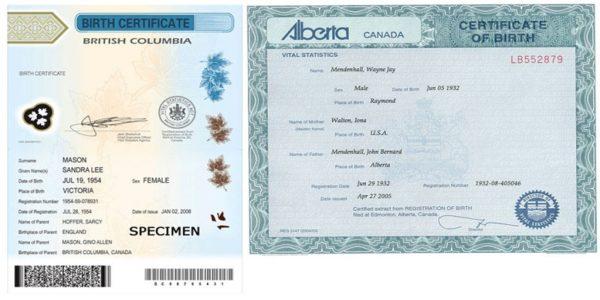 Canada Apostille