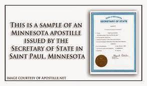Apostille Minnesota